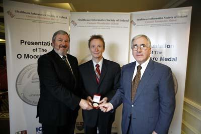 H Stephen Lieber Receives O'Moore Medal